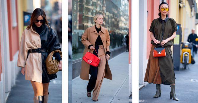 two-tone tweekleurige blouse schoenen trend