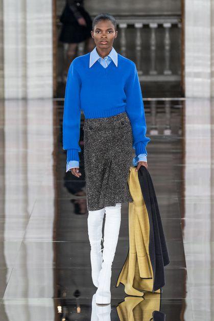 victoria Beckham winter 2020 catwalk london fashion week