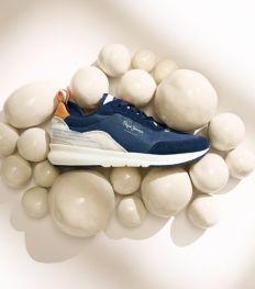 Pepe jeans lanceert een schoen die bij elke stap de lucht zuivert