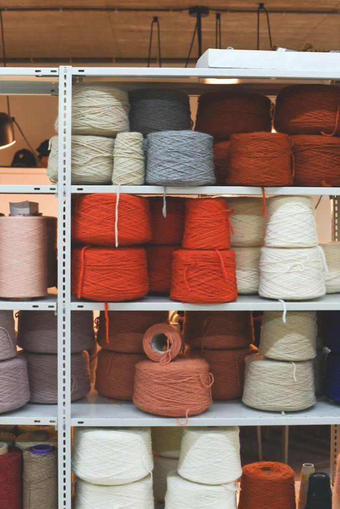 Jantine van Peski, weven, Antwerpen, macramé, weefgetouw, textielkunst