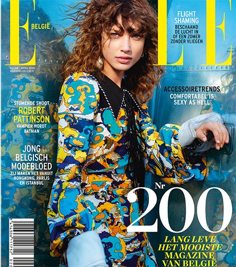 Lees het aprilnummer van ELLE België nu digitaal