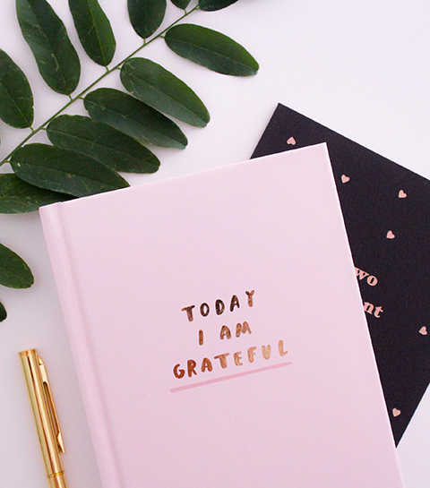 Dit is het ideale moment om een gratitude journal te starten