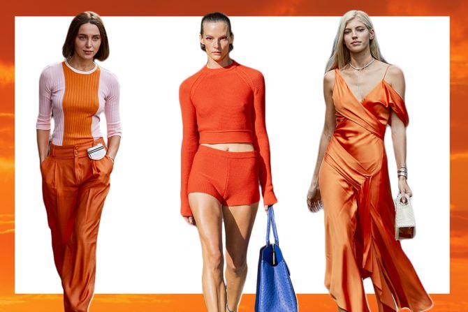 fel oranje trendkleur zomer 2020