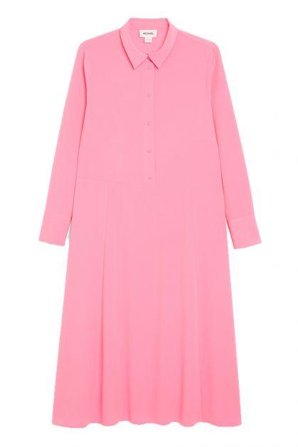 monki jurk roze