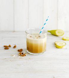Amandel Banaan Iced Cappuccino