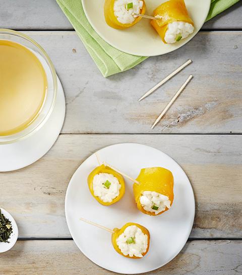 Recept: Rijstpuddingsushi met Japanse Sencha thee