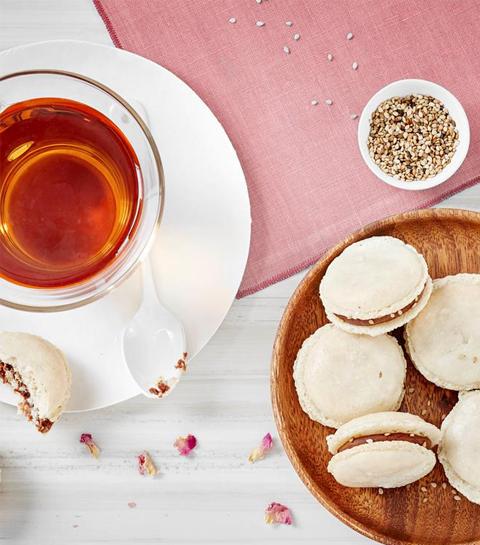 Recept: Macarons met darjeeling thee