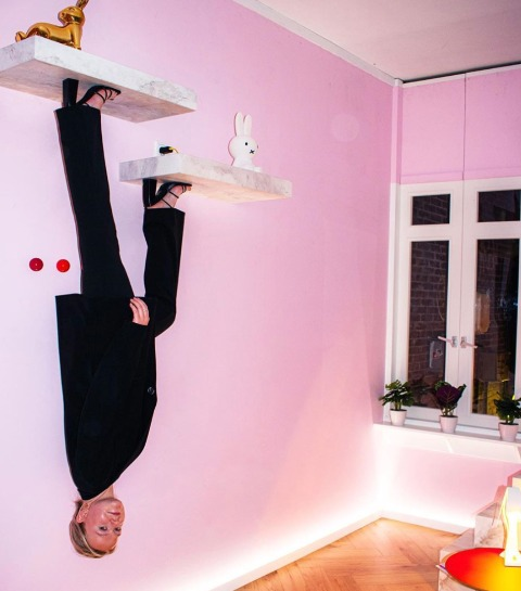 Hotspot: Instagrammuseum The Upside Down in Amsterdam