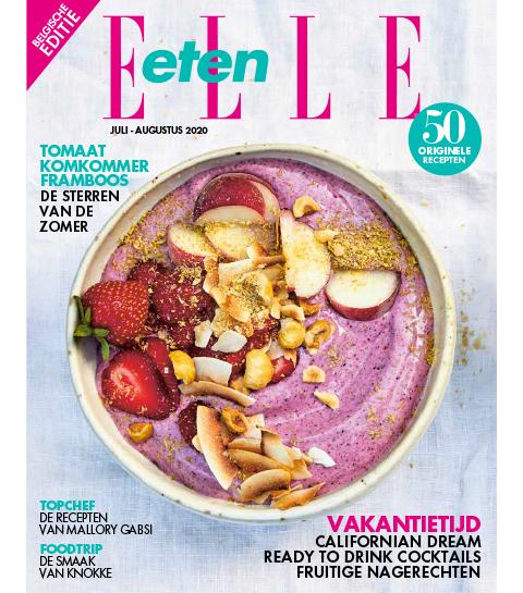 Lees de zomereditie van ELLE Eten België gratis