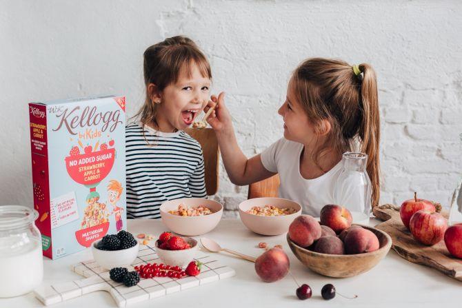 kellogg's gezonde ontbijtgranen kinderen