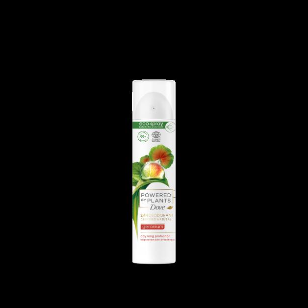 dove powered by plants deodorant groene beauty