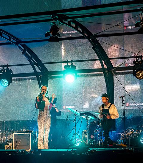 Staycation: ontdek de allereerste drive-in concerten in Brussel