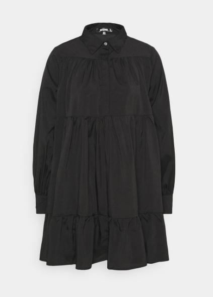 Missguided, Frill Poplin dress