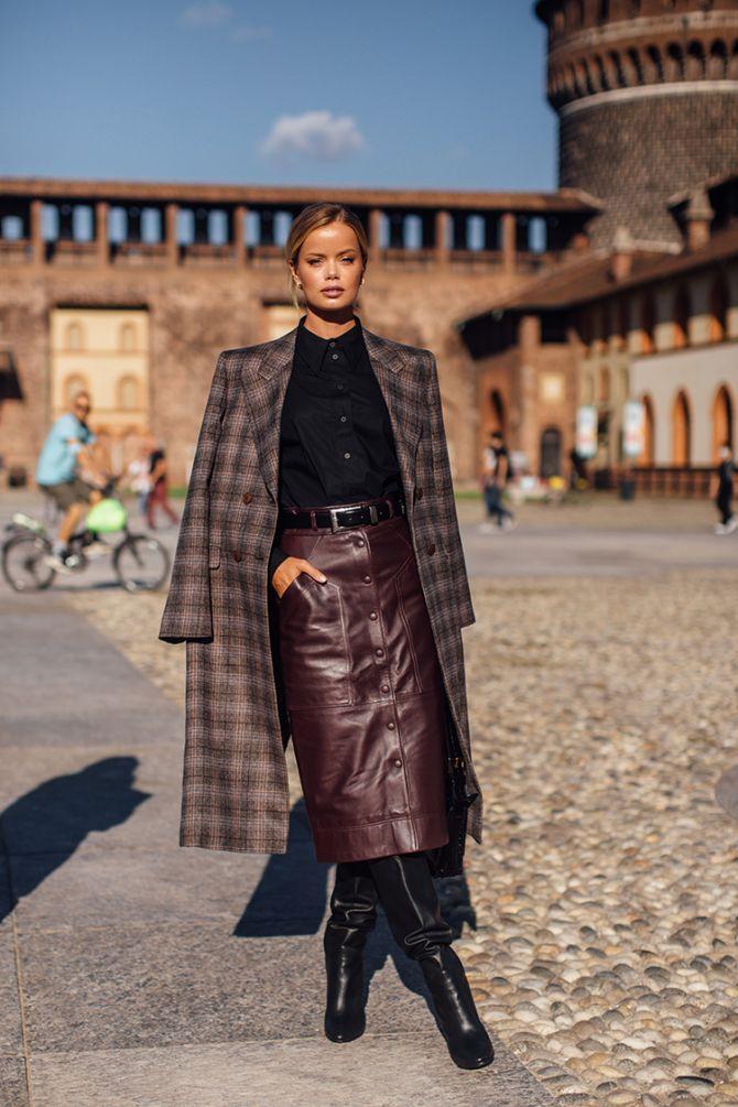 Fashion weeks 2020: dit zijn de allerbeste streetstyle looks van de modeweken - 19