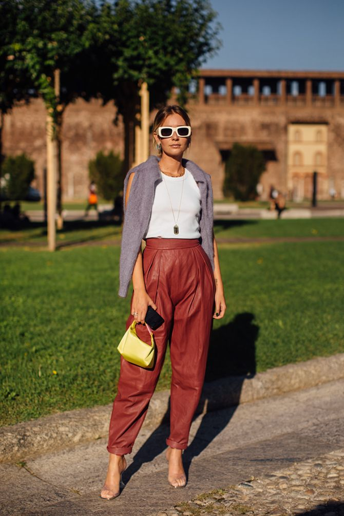 Fashion weeks 2020: dit zijn de allerbeste streetstyle looks van de modeweken - 25