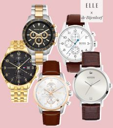 Holiday shopping: De allermooiste horloges voor de mannen in je leven