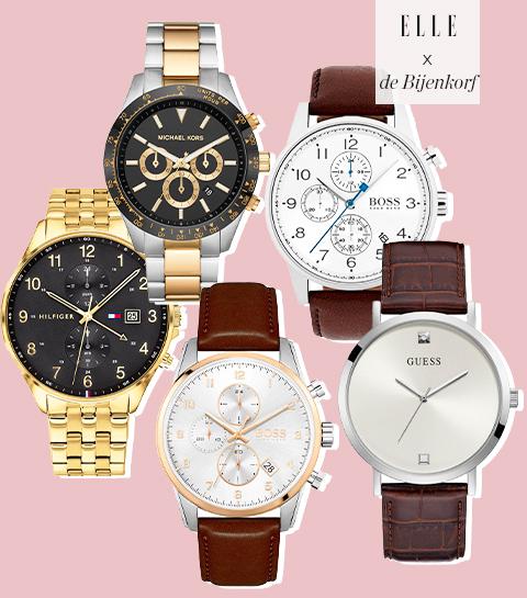 Holiday shopping: De allermooiste horloges voor de mannen in je leven