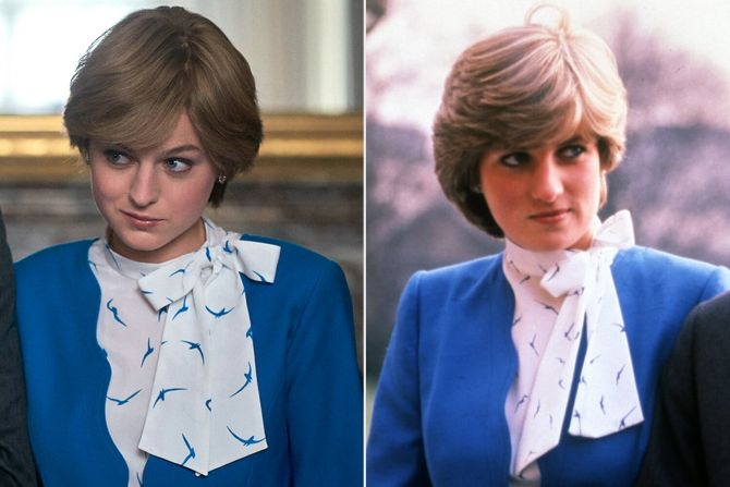 the crown prinses diana lady di outfits looks