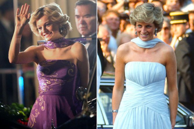 prinses diana lady di outfits looks