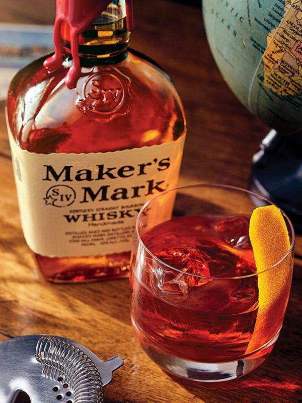 maker's mark whisky cocktail recept bourbon