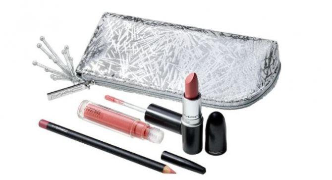 MAC lip kit holiday collectie feestlook make-up