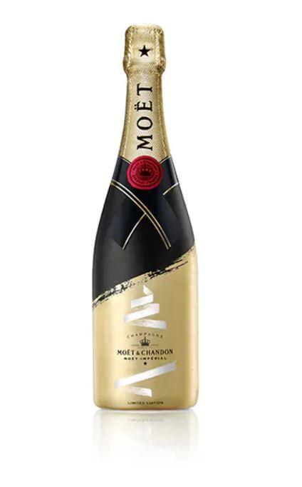 moet chandon champagne feesteditie cadeau