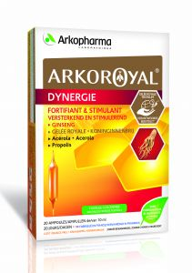 Arkoroyal Dynergie, 20 ampullen
