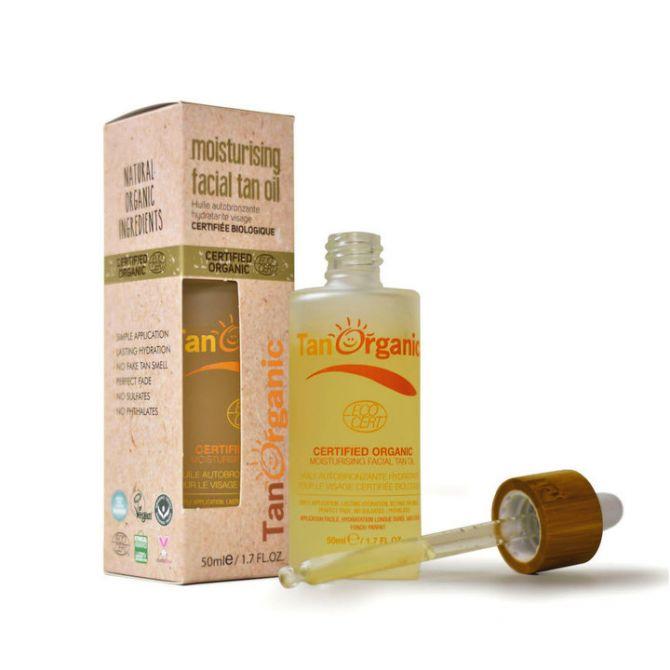 facial selftan oil