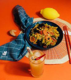 Foodpairing: de perfecte mocktail bij je favoriete afhaalgerechten