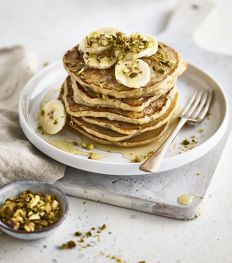 Recept: gezonde proteïnepannenkoeken met haver en griekse yoghurt