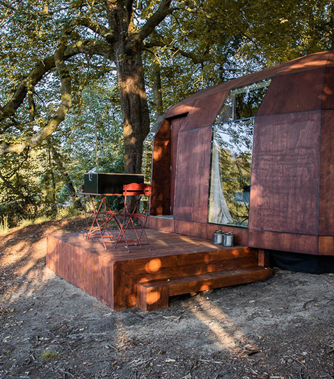 Staycation: een weekendje glamping in Cabins in the Park