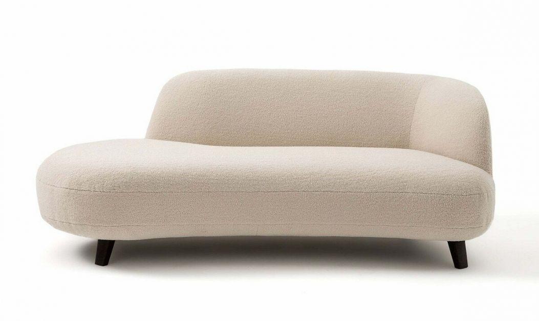 Witte longchair, La Redoute