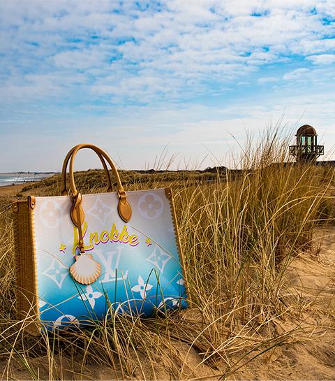 Louis Vuitton brengt exclusieve ONTHEGO Knokke tote uit