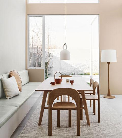 Natuurlijke verfkleuren die rust geven aan je interieur
