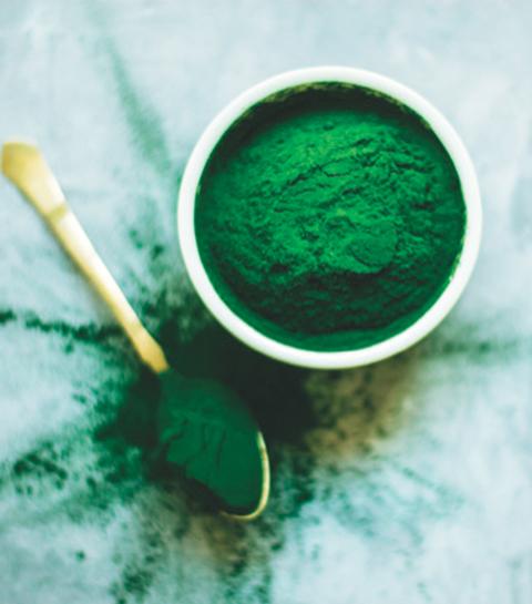 Spirulina : superfood voor sportivo's