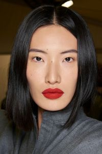 make-up trends rode lippen
