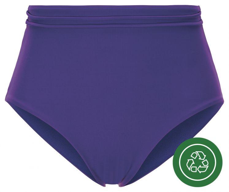 Paars high-waist bikinibroekje €9,99