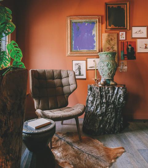 Binnenkijken: het fleurige interieur van Frederiek Van Pamel