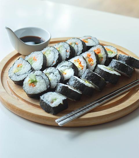 Recept: vegan sushi waarin je vis niet mist