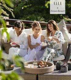 Evian Resort, herbronnen aan de bron