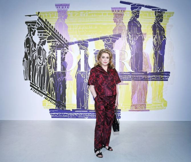 Dior Cruise show, collectie, Athene, Maria Grazia Chiuri, celeb