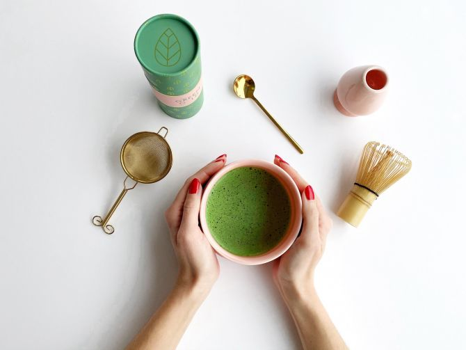 the green gold matcha gezond thee