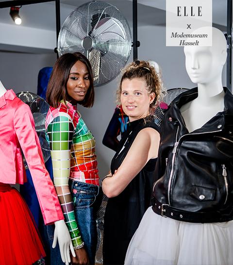 Win een duoticket voor de 'Activewear' expo van Modemuseum Hasselt inclusief meet and greet met gastcuratoren Elodie Ouédraogo en Olivia Borlée
