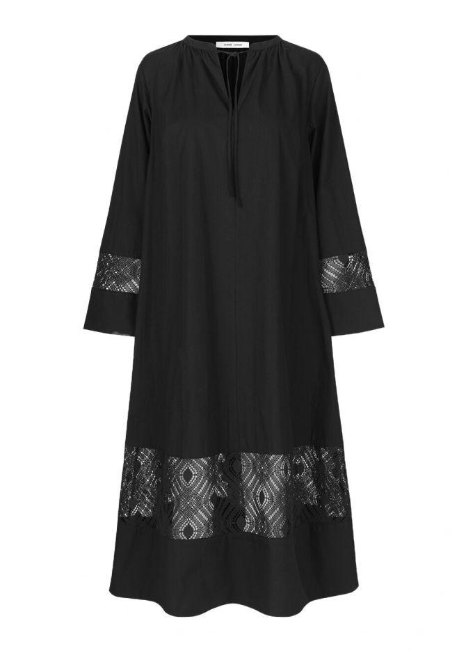 Samsoe Samsoe gehaakte jurk