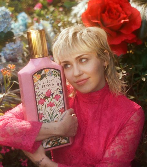 Gucci lanceert anime campagne voor nieuwste geur met Miley Cyrus