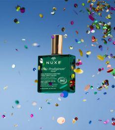 Nuxe viert zijn 30e verjaardag en onthult een nieuwe biologische Huile Prodigieuse