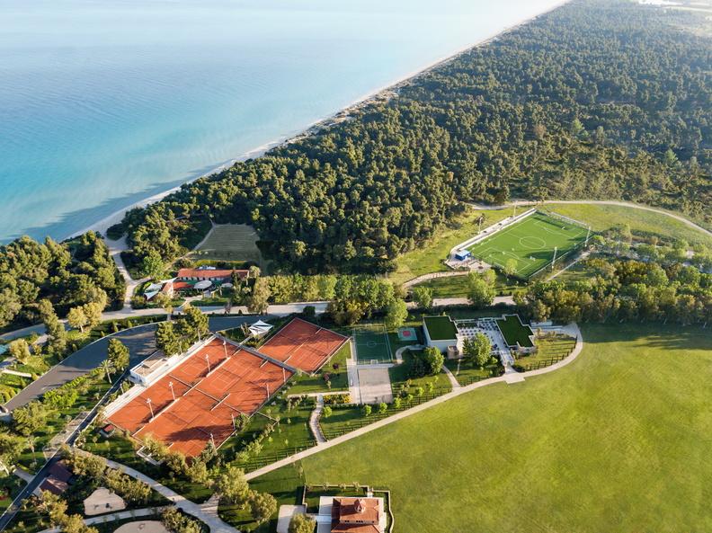sani resort rafa nadal tennis centre