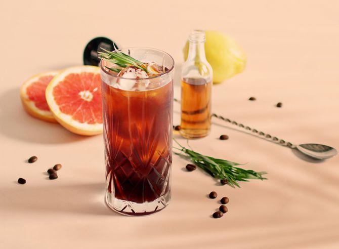 koffie cocktails dragon infused rum